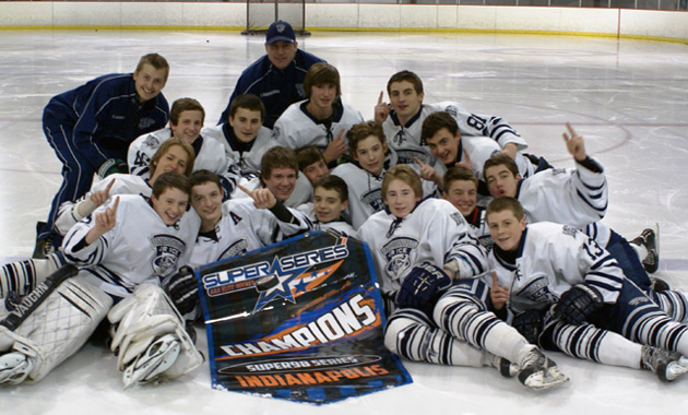 Indiana Jr  Ice Take Home Indianapolis Super98 Series Title