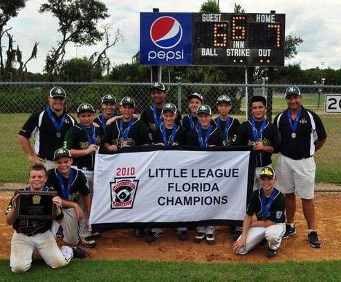 Viera/Suntree Little League Wins Florida State Championship