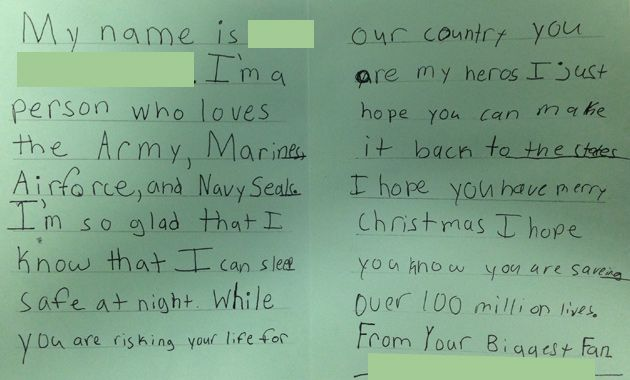 How to address a letter to a soldier overseas