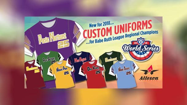 Alleson Athletic Named Official Uniform of Babe Ruth League
