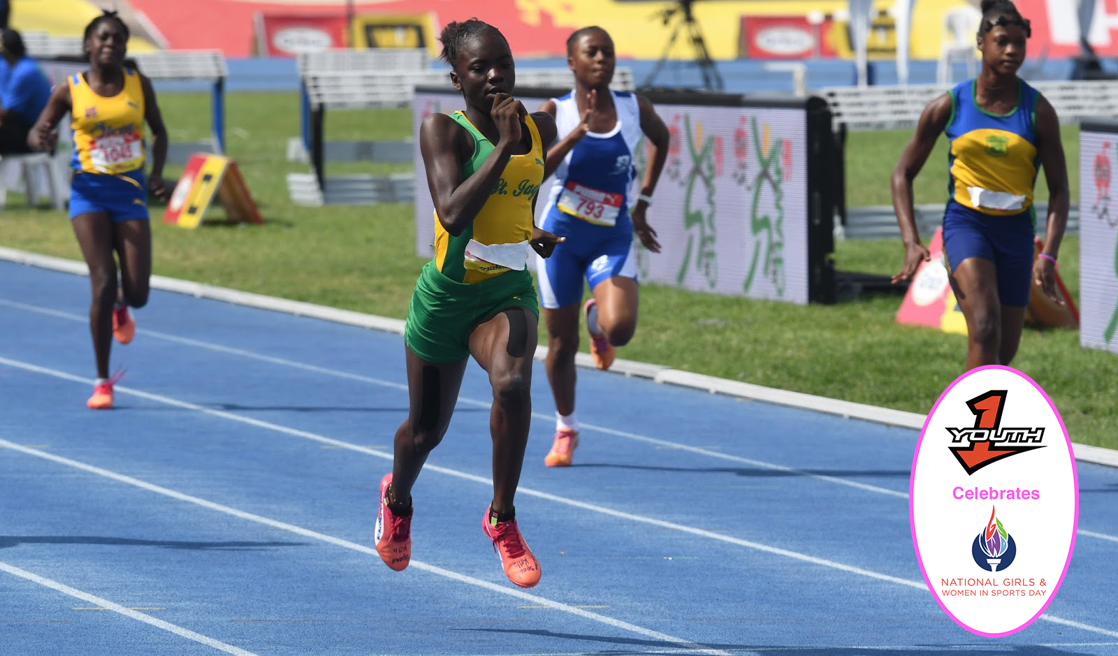 Meet Jamaica's new sprinting phenom, 14 year old Brianna Lyston