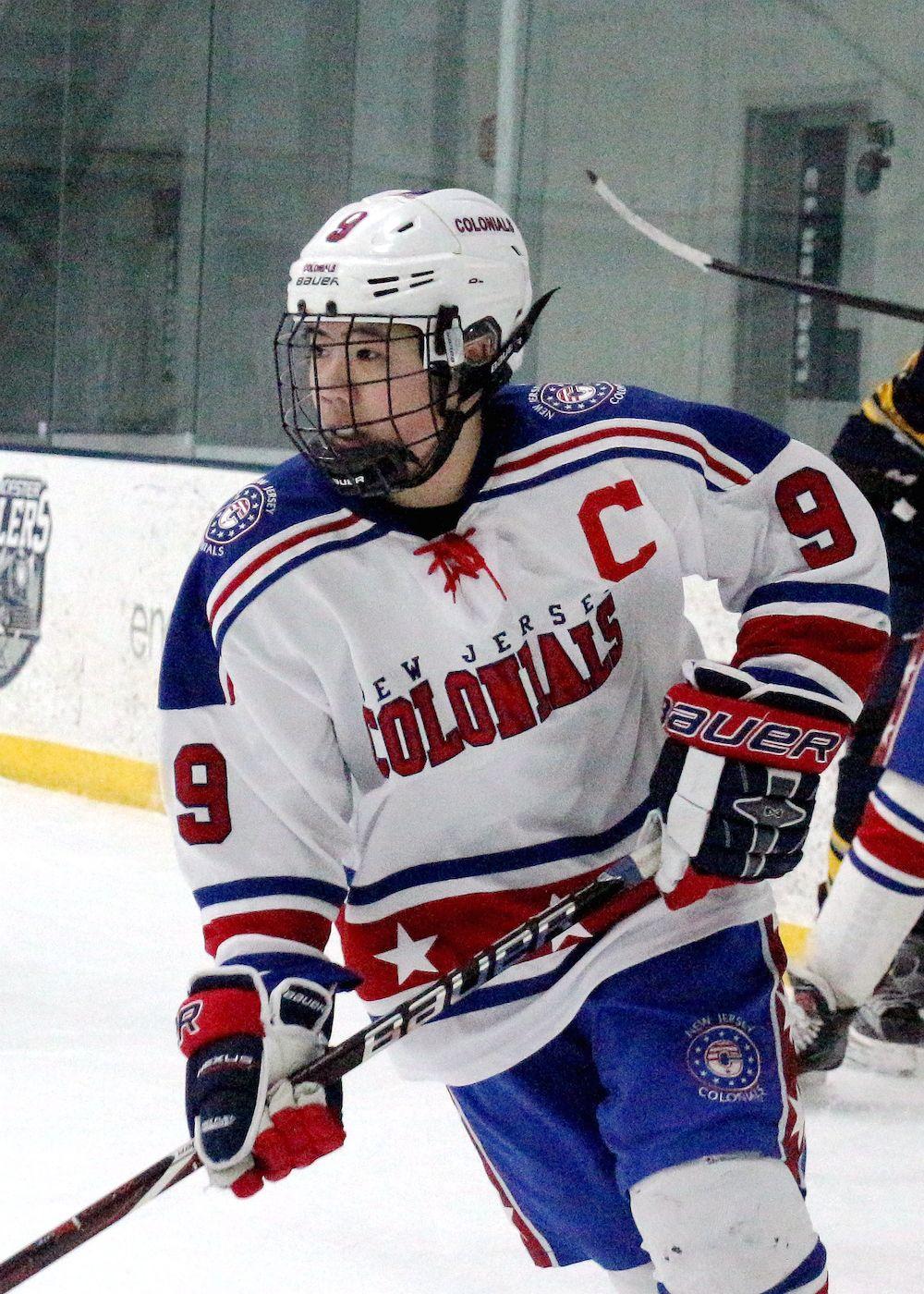 David Chen NJ Colonials Ice Hockey