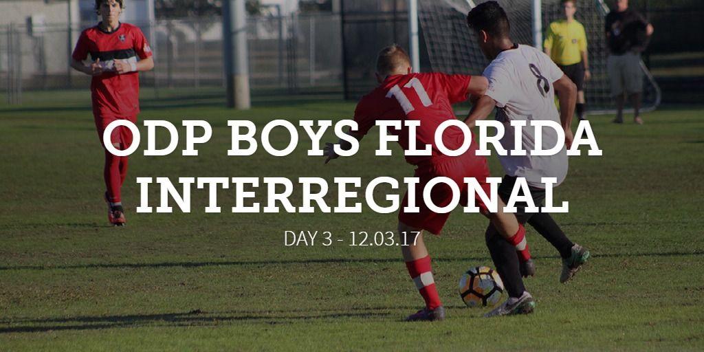 ODP Boys Florida Interregional concludes