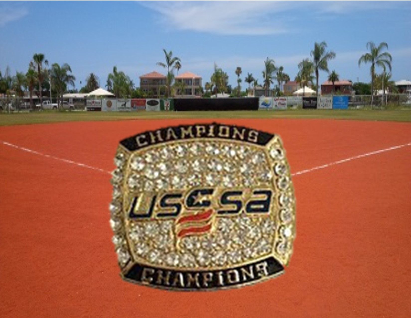 USSSA bling awarded at tournament