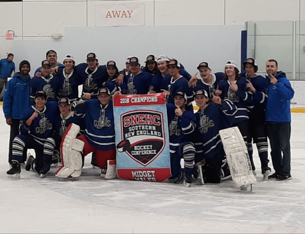 Gateway's midget team wins Southern New England Hockey Conference Championship