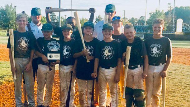 green sox, south carolina, youth, baseball, USSSA