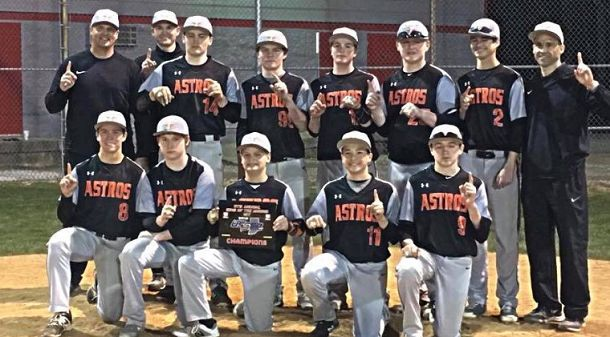 Indiana Astros 14U Victorious in First USSSA Tournament