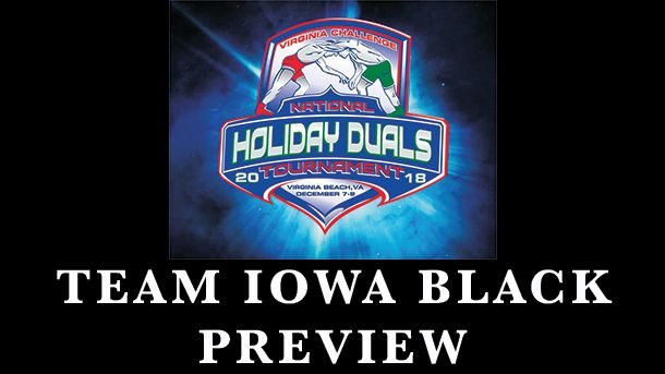 2018, vac, holiday, national, duals, preview, iowa, black, wrestling