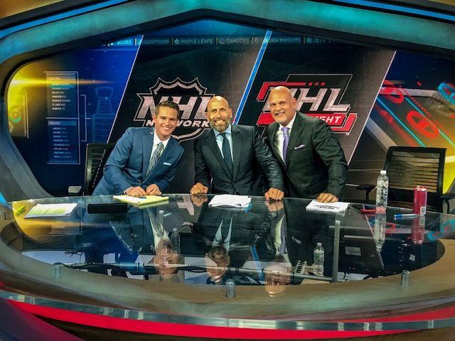 Jamison Coyle In studio NHL Network