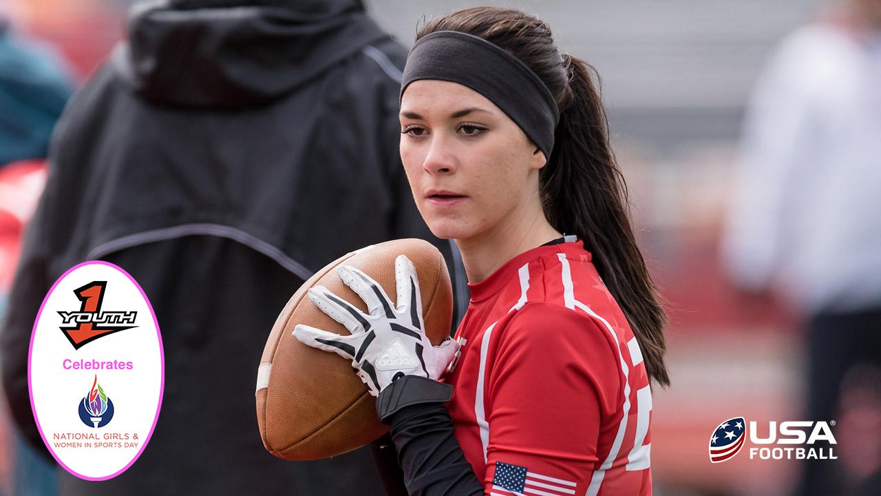 MUST WATCH: USA Football's video on 9th grade quarterback Madeleine Northern