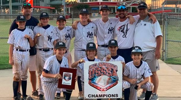 yankees, youth, baseball, usssa, nationals, southaven