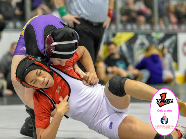 North Carolina crowns champions at first ever NCHSAA Girl's Wrestling Invitational