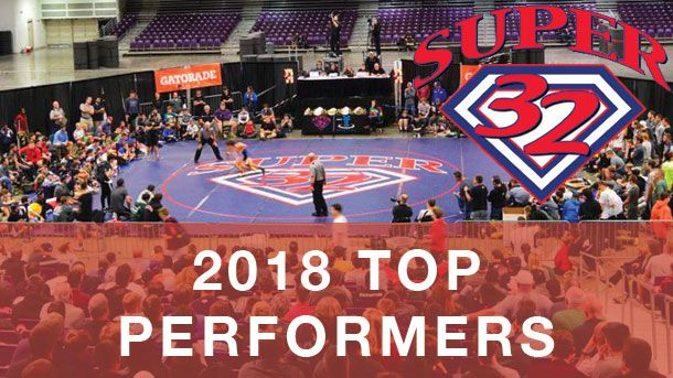 super 32, top, performers, middle, school, youth, wrestling, 2018 super 32