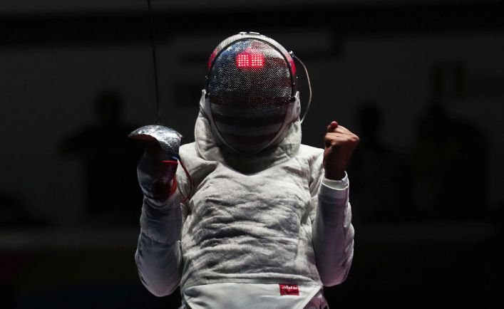 Meet Zoe Kim, fencing champion
