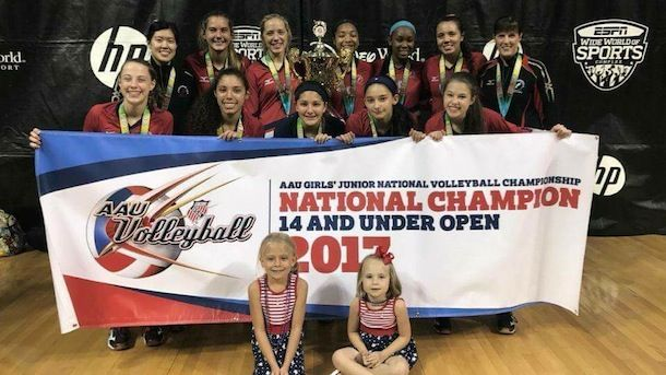 SPVB wins 14-under national title in Orlando