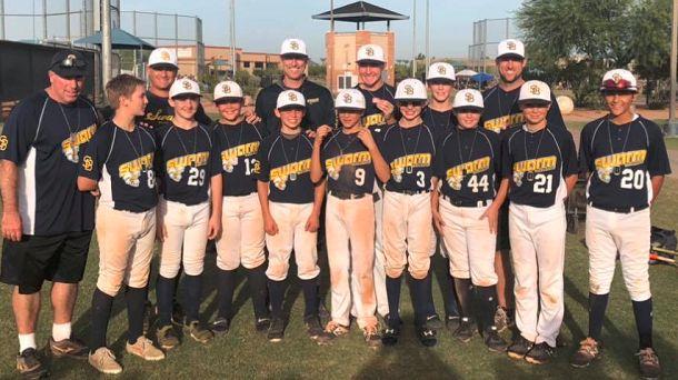 baseball, swarm, youth, arizona, usssa