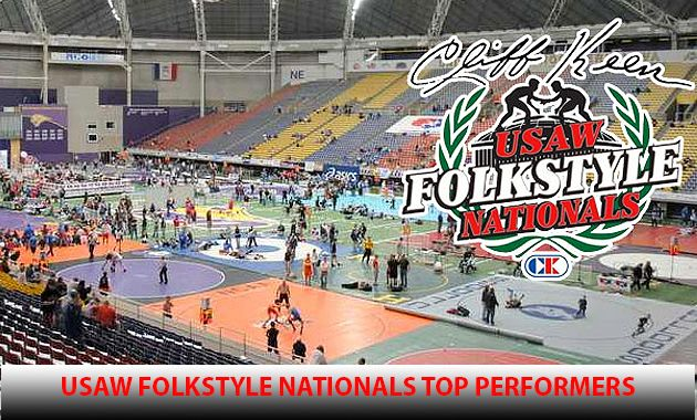 usa, wrestling, folkstyle, nationals, top performers, jesse, mendez, 2017, Nasir Bailey, Nic Bouzakis