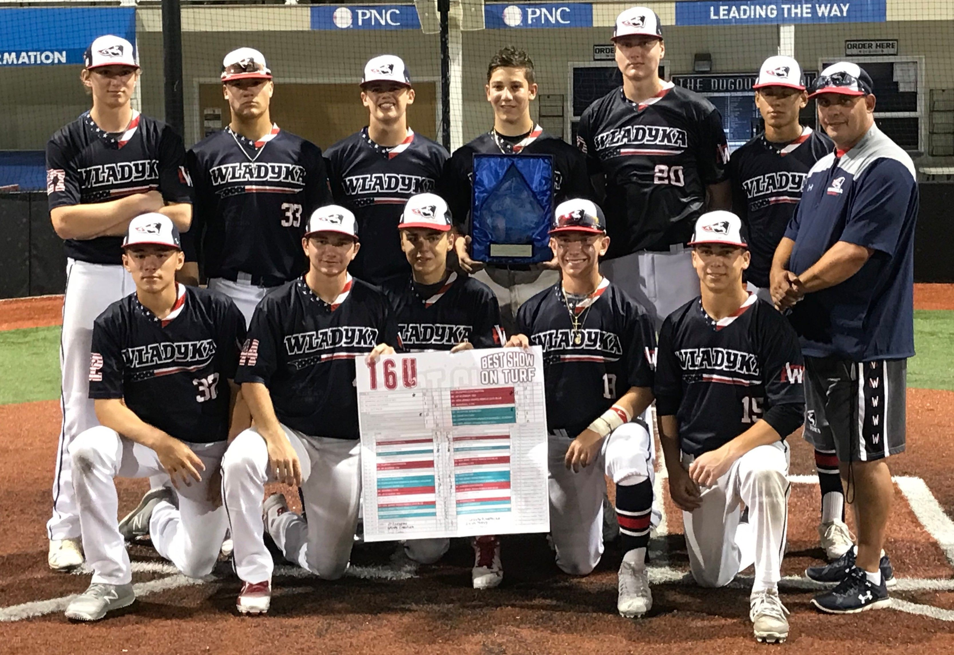 Ruggieri arm, Wladyka bats too much for CT Grind in Turf final