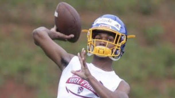 2022 QB Jahmier Slade is one of North Carolina's brightest young talents