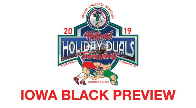 2019, vac, holiday, duals, iowa, black, preview