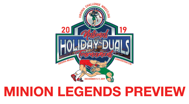 2019, VAC, Holiday, Duals, Minion, Legends, Youth, Wrestling