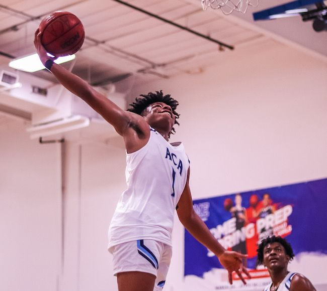2022's Jamal Jacobs fuels his teammates through his scrappiness and high motor