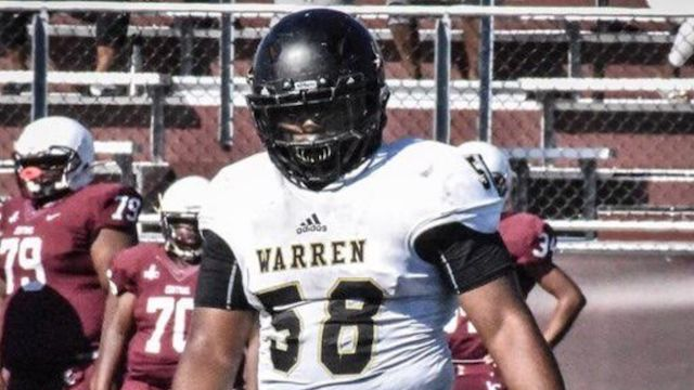 2023 standout Damon Ward continues to dominate in the trenches