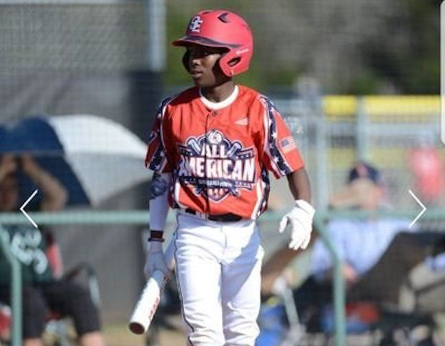 2023's Ladarian Gaines is one of the brightest outfield prospects in Texas