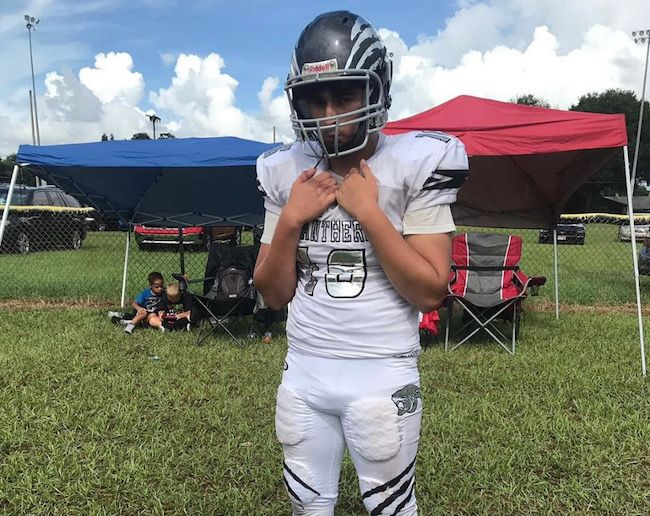 2024's Brad Vera explodes off the line of scrimmage like a missile