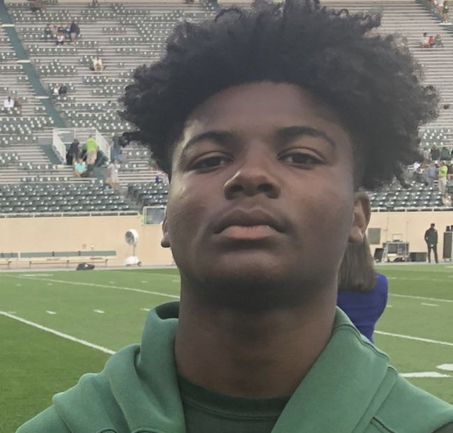 2022's Kyle Johnson is one of Michigan's most hard-hitting safeties