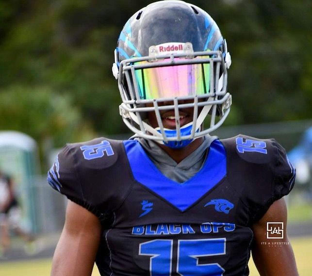 2024's George Brown is aspiring to one day become a Florida Gator