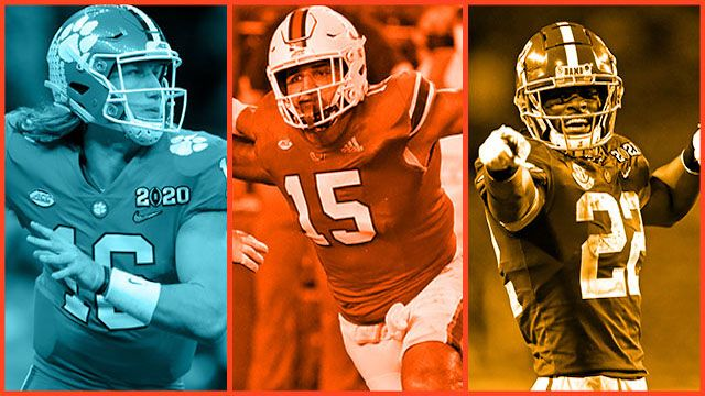 3 Youth1 Alums drafted in Round 1 of the NFL Draft