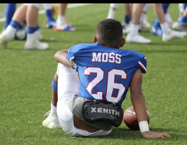 2026's Noah Moss is striving to follow in his father's NFL footsteps