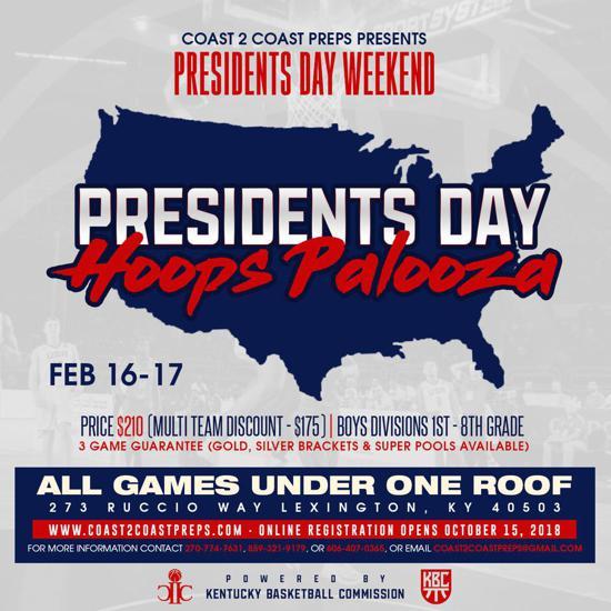 Coast 2 Prep Presents Presidents Day Hoops Palooza