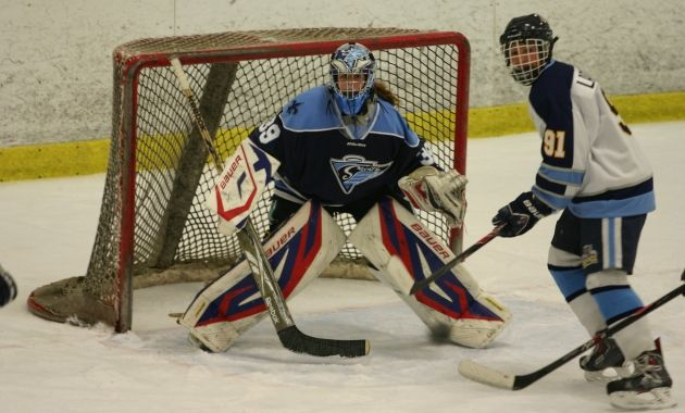 Female Hockey Goalie Plays With The Best Of The Boys Youth1