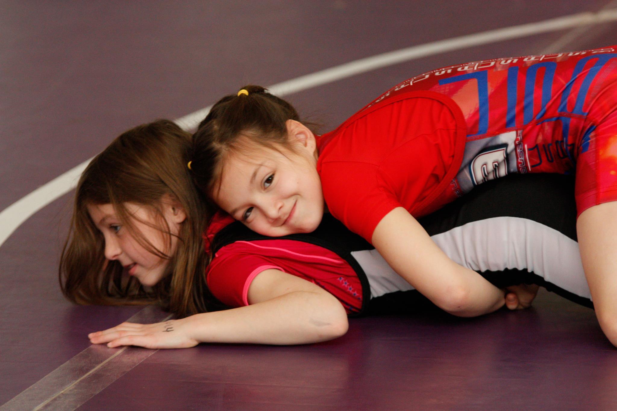 Boobs teenage girl wrestlers young horny