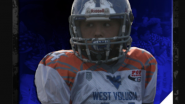 2022 FB/MLB Elias Velasquez named Most Improved Player at the Diamond All-American Bowl