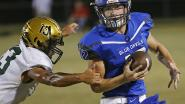 SENSATIONAL SOPHOMORE: Maiden's Rhodes throws 3 TD passes to Abernethy in 30-23 win over Bandys | Hdr | hickoryrecord.com