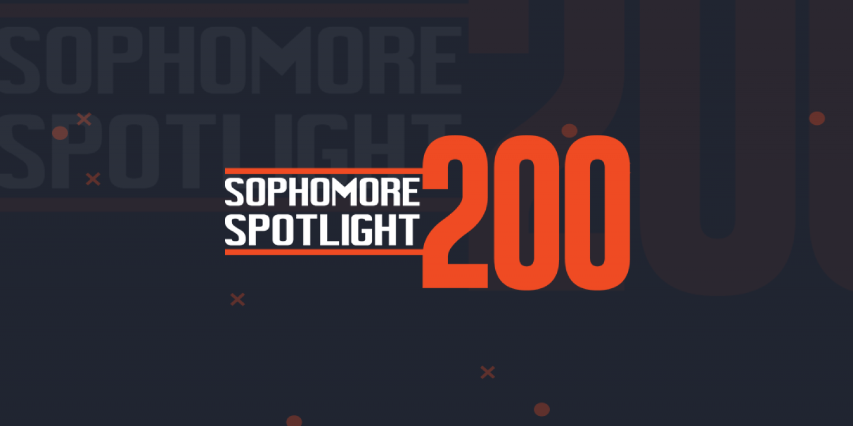 sophomore spotlight 200 announcement
