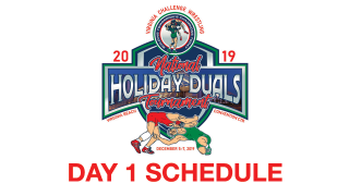 2019, vac, holiday, national, duals, day 1, schedule