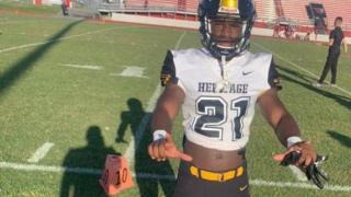 2023's Reggie Foster has his sights set on one day becoming a Georgia Bulldog