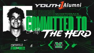 Top Ranked Athlete 2022 QB Chase Harrison commits to Marshall University