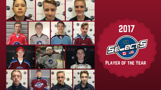Legacy Global Hockey Selects Players of the Year