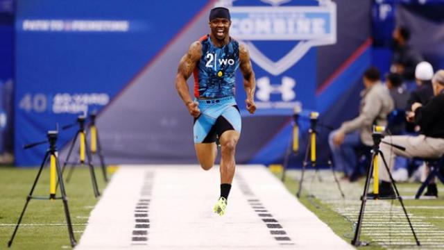 is the 40 yard dash the most important combine drill