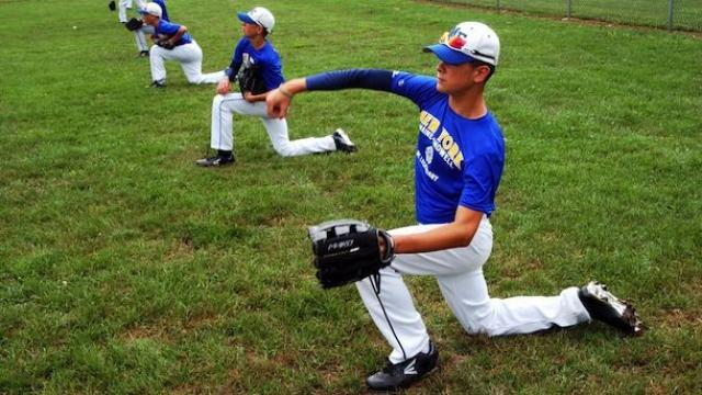 Warmup and pregame demeanor matters a lot to scouts