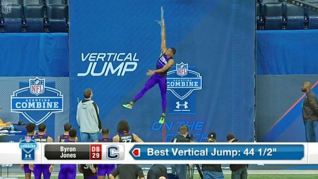 Why the vertical jump is such an important combine drill