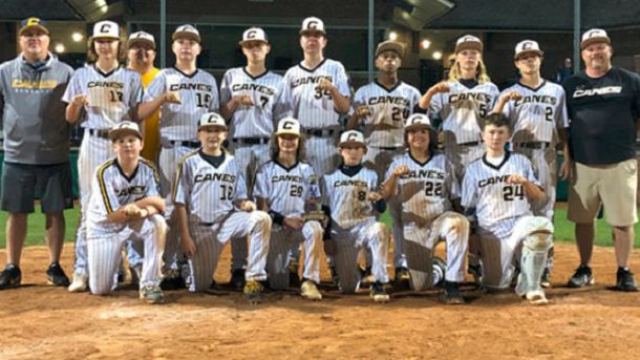 Canes Eastern, baseball, usssa, super nit