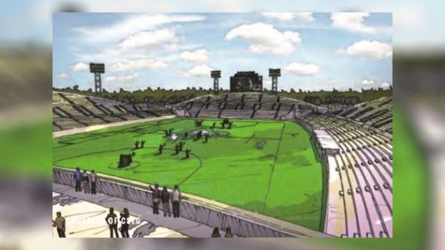 chesapeake bayhawks stadium rotator