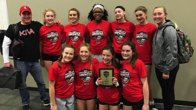 The Asics KIVA 13 Red team won the Motor City Madness title