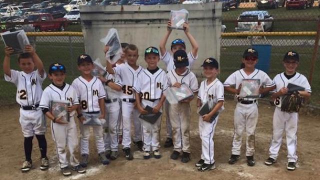 mars baseball association team